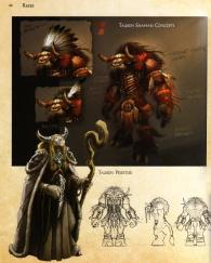 Page 40 de l'art book : The Art of World of Warcraft