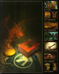 Sommaire de l'Art book : The Art of the Burning Crusade (World of Warcraft)