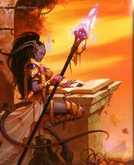 Page 16 de l'Art book : The Art of the Burning Crusade (World of Warcraft)