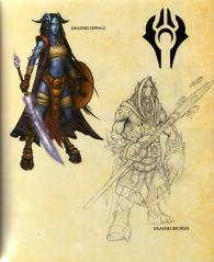 Page 17 de l'Art book : The Art of the Burning Crusade (World of Warcraft)