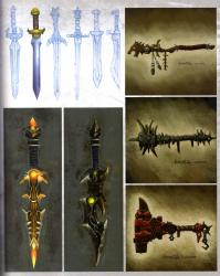 Page 67 de l'art book The Art of Warth of the Lich King (World of Warcraft)