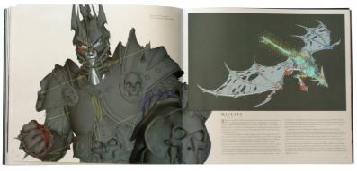 La problématique de la 3D est très soigneusement détaillée (page 122 de l'art book The Cinematic Art of Warth of the Lich King)
