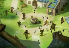 Les polters transforment les villageois en végétaux