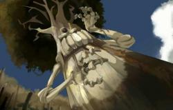 Le grand Chêne Mou discute avec Amalia