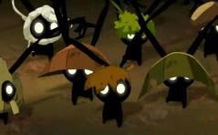 Voyant que le Chêne Mou n'est plus agressif, les polters cessent leur attaque