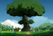 Un arbre géant évoquant celui de Totoro a poussé en quelque instants à cause du Wakfu de la noxine