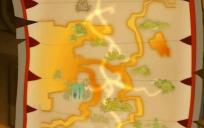 La carte magique peut afficher n'importe quel lieu