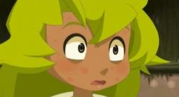 Amalia lorsqu'elle était petite et qu'elle avait le varicelle
