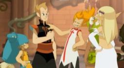 Wagnar invite Yugo et ses amis à se restaurer dans son château