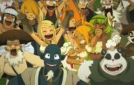 Yugo et ses amis laissent éclater leur joie lorsque Xav gagne le concours
