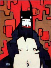 Smile, peinture tirée de Back de Diamonds, Spades, Hearts & Clubs' par Mike Shinoda