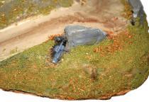 Le flocage donne une texture et du relief à la surface