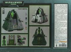 Fond du packaging du Monolithe Nécron (Warhammer 40.000)