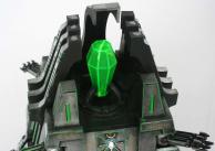le talisman a un joint très visible à cause de la colle