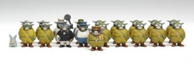 Dans la seconde édition l'équipage de l'Akuyaku est complet ( ??1? maquette de tank Miyazaki)