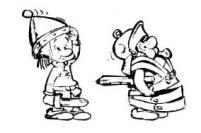 Voici l'illustration qui a servi de modèle pour les deux figurines supplémentaires.