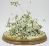 Attakus : La bagarre du village - 50 ans d'Astérix version blanche (2009)
