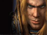 Fond d'écran d'Arthas en tant que paladin (World of Warcraft)
