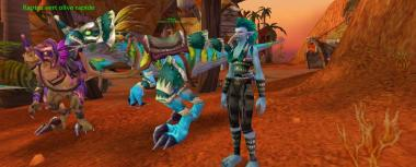 La maîtresse des montures Troll (Warcraft)
