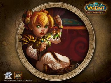 Fond d'écran World of Warcraft (Gnome)