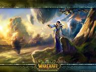 Fond d'écran (de fan) sur les humains de World of Warcraft