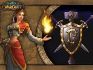 Fond d'écran officiel des humains de World of Warcraft