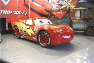 Flash McQueen en vrai à l'échelle 1