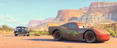 Flash McQueen et Doc Hudson
