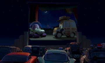 Mack dans le cinéma open air