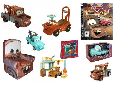 Martin (Mater the Tow Truck - Pixar Cars) jouets et produits derives