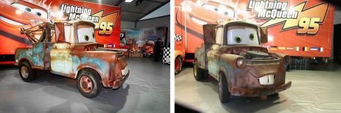 Martin (Mater the Tow Truck - Pixar Cars) en vrai à l'échelle 1