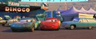 Le King Strip Weathers accidenté (Pixar - Cars)