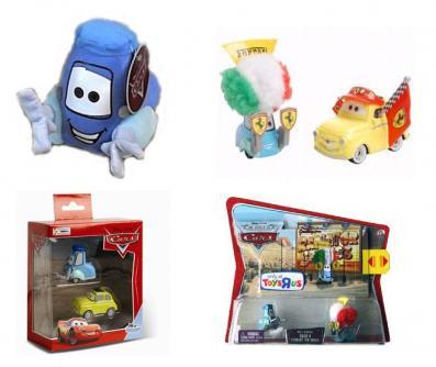 Guido jouets et produits dérivés (Cars - Pixar)