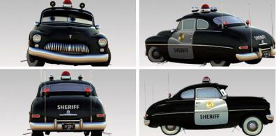 Sherif (Cars - Pixar) Sheriff