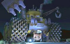 Banshee dans le court metrage Martin et la Lumière Fantôme (Cars - Pixar)