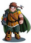 A la page 2 il y a un descriptif des personnages où le bras démon de Razzia apparaît.