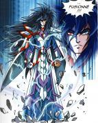 Darkhell et Elysio vont accepter de fusionner dans l'unique but de protéger leur fille Ténébris.