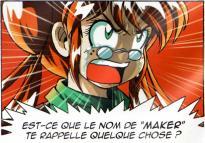 Toopie découvre de Razzia est en réalité Korbo l'Ombre Rouge, le meurtrier de ses parents.