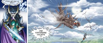 Ténébris est le capitaine de l'Hydarkos, une étrange forteresse volante.