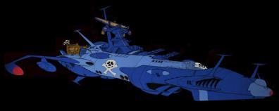 L'Arcadia n°5 (Atlantis) d'Albator 78
