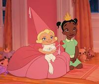 Charlotte et Tiana quand elles étaient petites