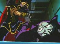 Dans la série TV, Harlock récupère l'anneau après avoir tiré sur Alberich