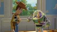 La rencontre de Buzz et Woody