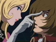 Dans Herlock Endless Odyssey, Nausica (Kei Yûki) semble parfois être attiré par Tadashi Daiba