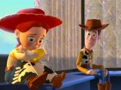 Jessie raconte sa triste histoire à Woody