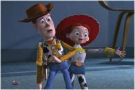 Jessie est heureuse de rencontrer Woody
