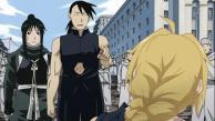Ling propose à Edward d'utiliser sa pierre philosophale pour ressusciter Al (Fullmetal Alchemist)