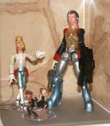 Figurines d'exposition (Shin-ichiro Natsusaka)