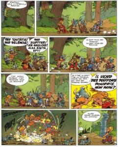 Page 1 du tome 20 - Astérix en Corse