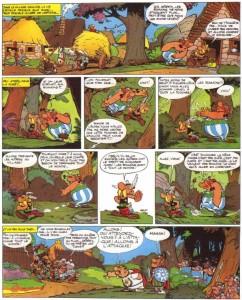 Page 2 du tome 5 - Le tour de Gaule d'Astérix